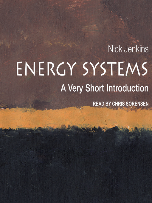 Title details for Energy Systems by Nick Jenkins - Available