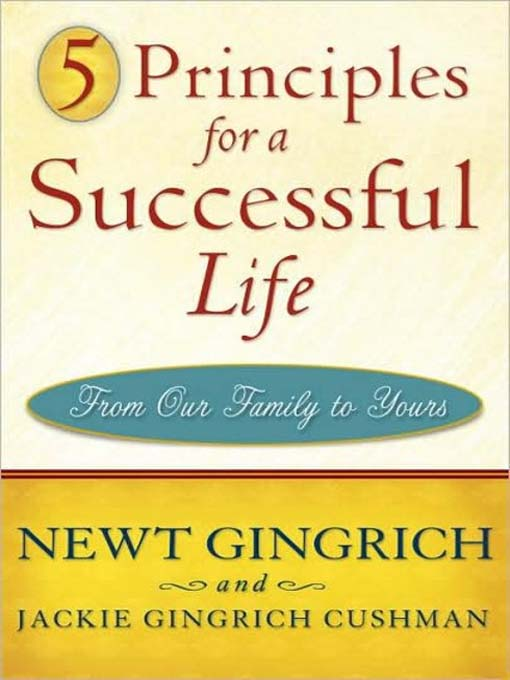 Cover of 5 Principles for a Successful Life