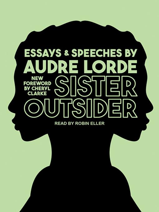 Cover: Sister Outsider
