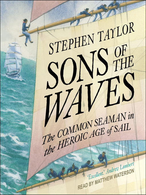 Title details for Sons of the Waves by Stephen Taylor - Wait list