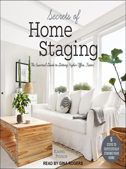 Title details for Secrets of Home Staging by Karen Prince - Wait list