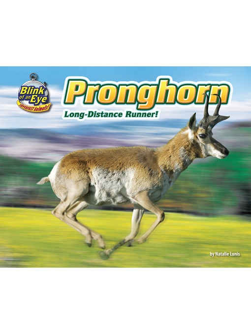 Title details for Pronghorn by Natalie Lunis - Wait list