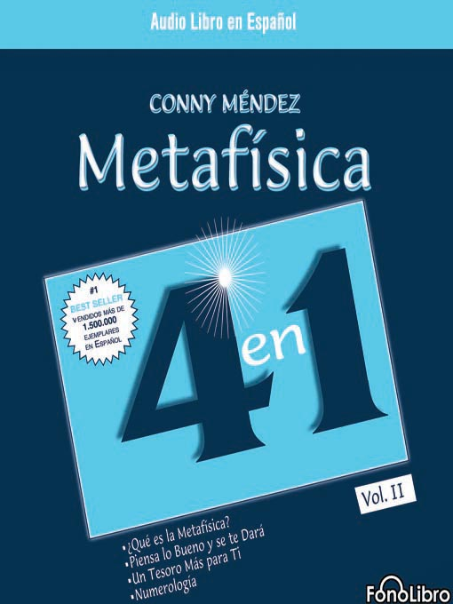 Title details for Metafísica 4 en 1 - Volumen 2 by Conny Mendez - Available
