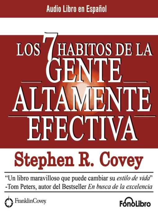 Title details for Los 7 habitos de la Gente Altamente Efectiva by Stephen Covey - Available