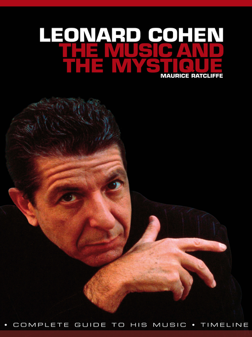Title details for Leonard Cohen by Maurice Ratcliff - Available