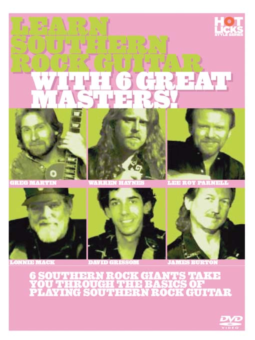 Title details for Learn Southern Rock Guitar With 6 Great Masters by Hot Licks - Wait list