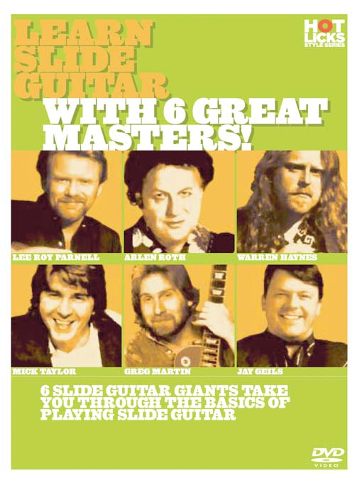 Title details for Learn Slide Guitar With 6 Great Masters by Hot Licks - Wait list