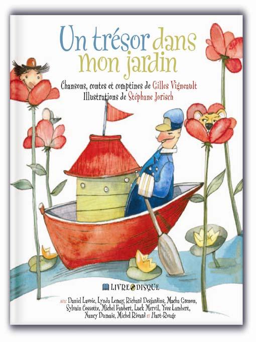 Title details for Un trésor dans mon jardin by Gilles Vigneault - Available
