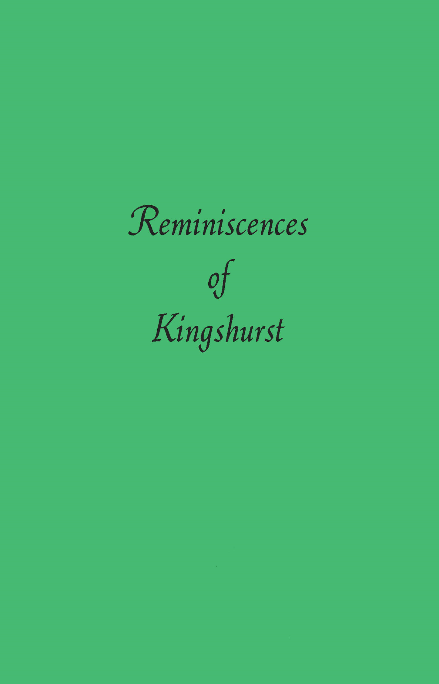 Title details for Reminiscences of Kingshurst by Solihull LIbraries - Available