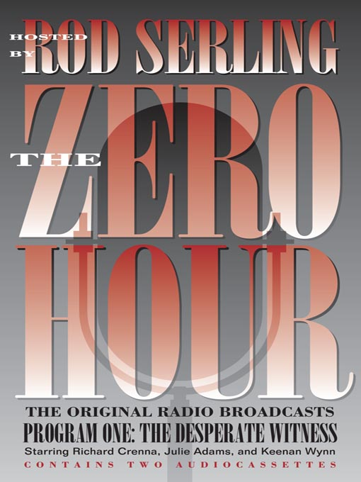 Title details for Zero Hour 1--The Desperate Witness by Julie Adams - Available