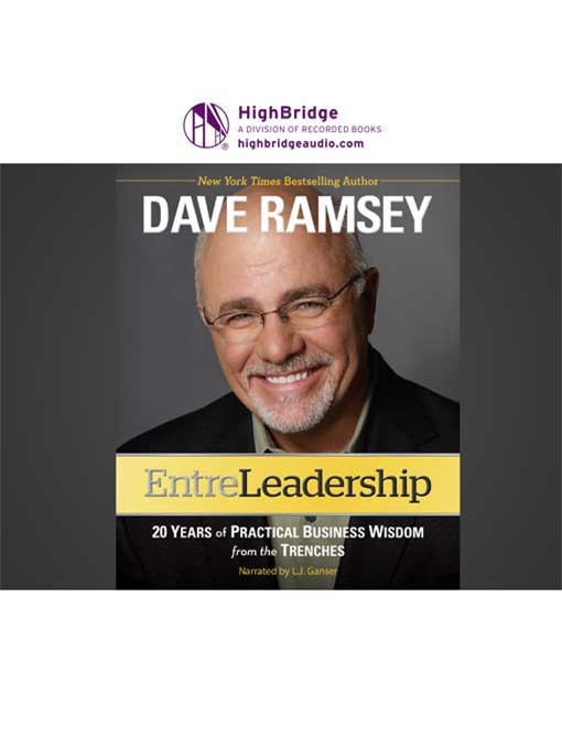 Title details for Entreleadership by Dave Ramsey - Wait list