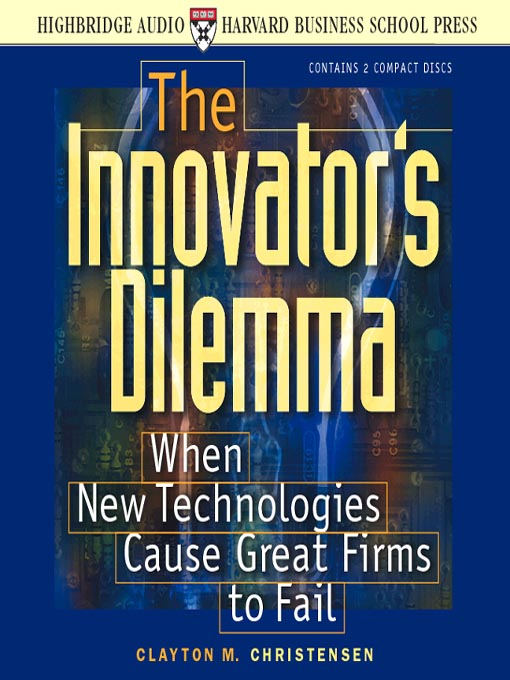 Cover of The Innovator's Dilemma