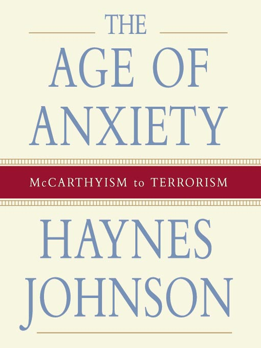 Cover of The Age of Anxiety