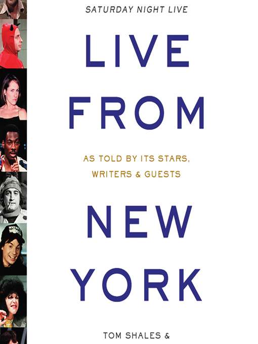 Cover of Live from New York