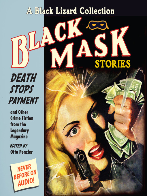 Cover image for Black Mask 10--Death Stops Payment--And Other Crime Fiction from the Legendary Magazine