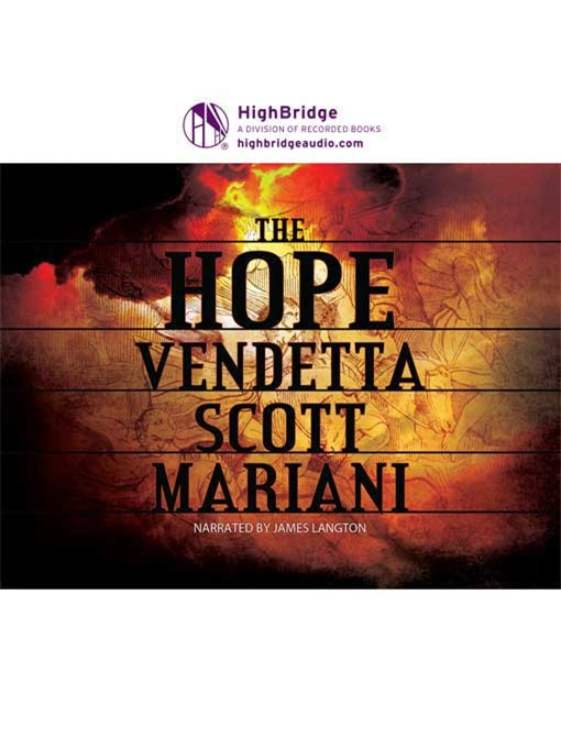 Title details for The Hope Vendetta by Scott Mariani - Available