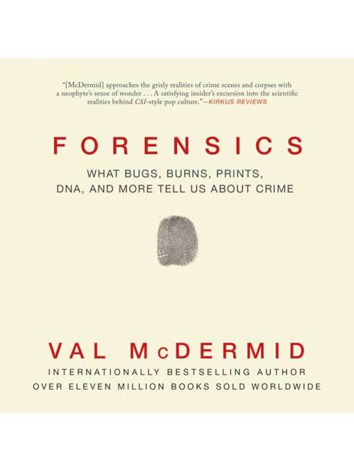 Title details for Forensics by Val McDermid - Available