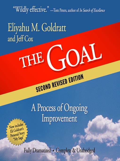 the goal a process of ongoing improvement essay
