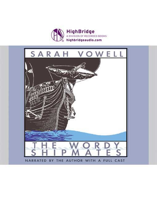 Sarah vowell the wordy shipmates thesis