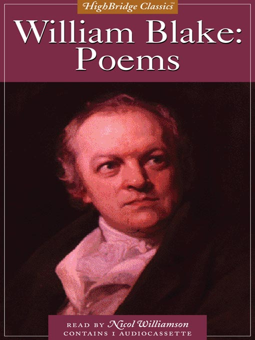 Cover of William Blake--Poems