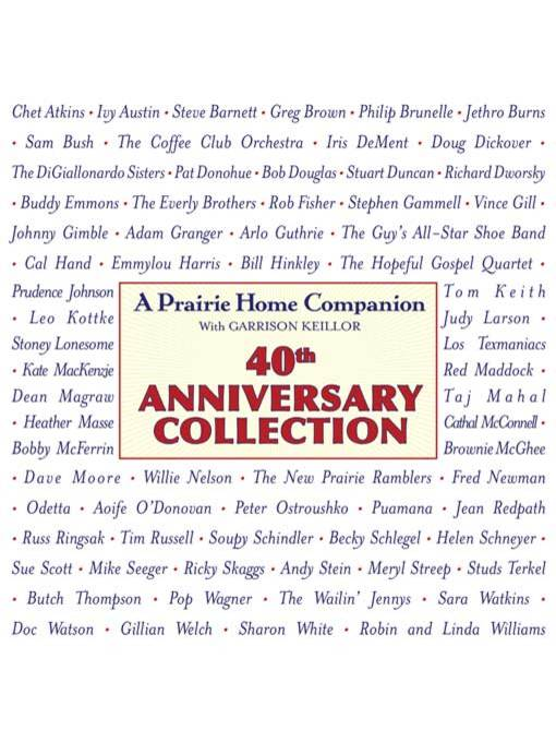 Title details for A Prairie Home Companion by Garrison Keillor - Available