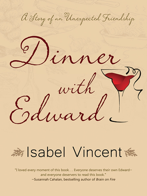 Title details for Dinner with Edward by Isabel Vincent - Wait list