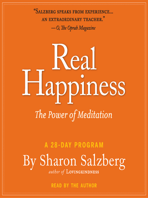 Title details for Real Happiness by Sharon Salzberg - Available
