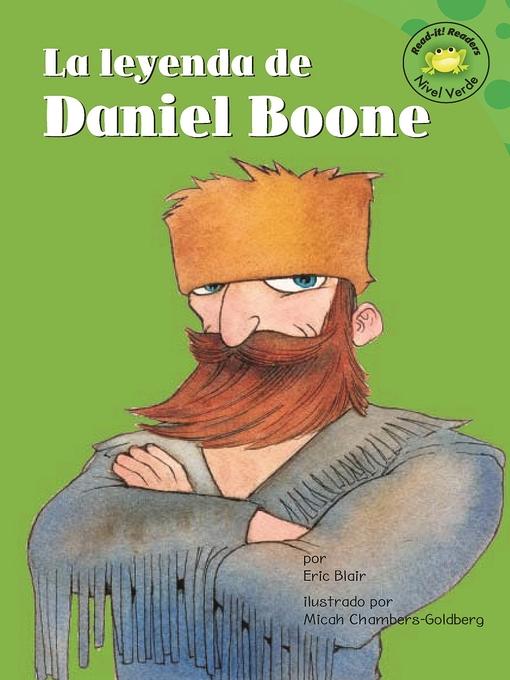 Title details for La leyenda de Daniel Boone by Eric Blair - Available