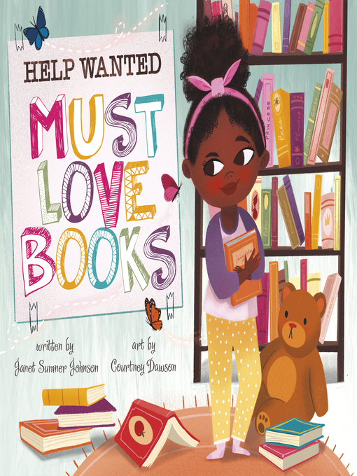 Title details for Help Wanted, Must Love Books by Janet Sumner Johnson - Available