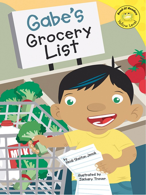 Title details for Gabe's Grocery List by Heidi Shelton - Available