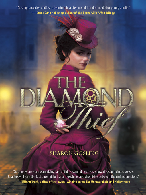 Title details for The Diamond Thief by Sharon Gosling - Available