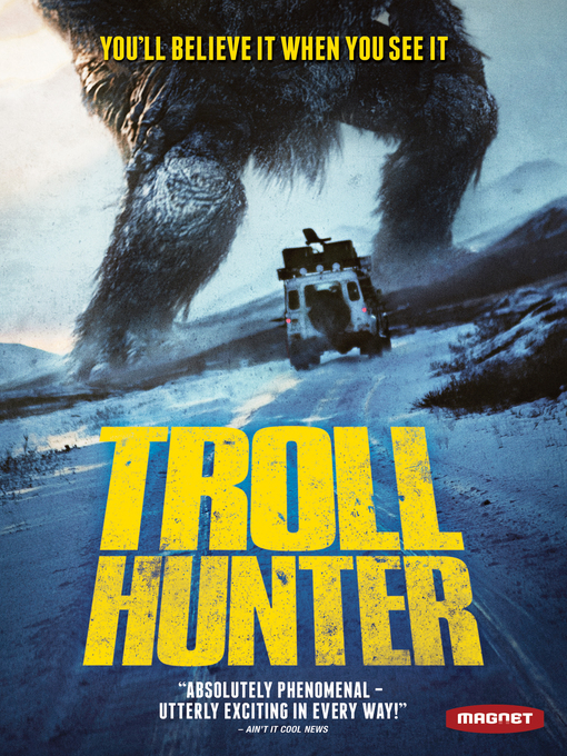 Title details for Troll Hunter by André Øvredal - Available