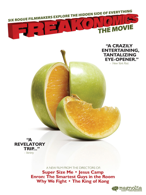 Title details for Freakonomics by Alex Gibney - Wait list
