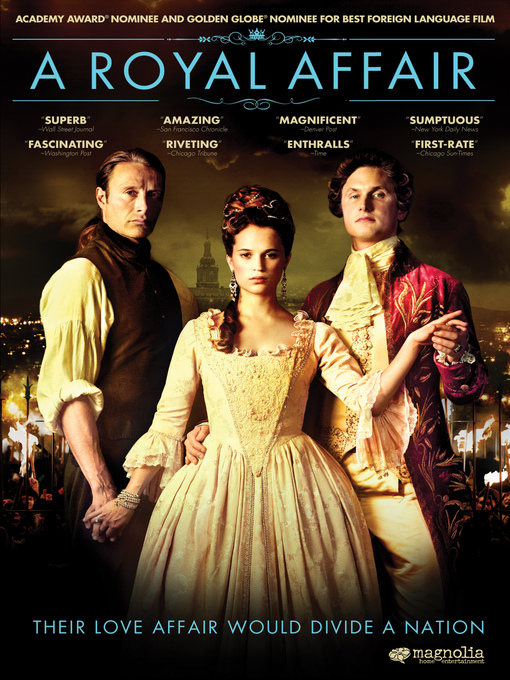 Title details for A Royal Affair by Nikolaj Arcel - Wait list