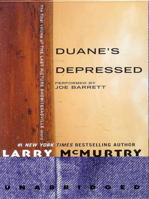 Title details for Duane's Depressed by Larry McMurtry - Available