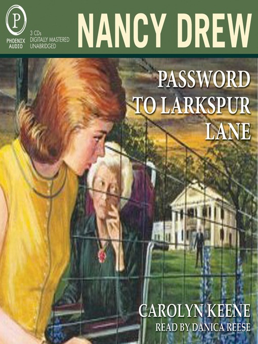 Title details for Password to Larkspur Lane by Carolyn Keene - Wait list
