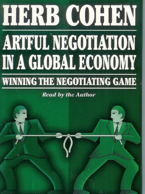 Cover of Artful Negotiation In A Global Economy