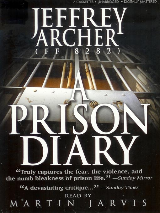 Title details for A Prison Diary by Jeffrey Archer - Available