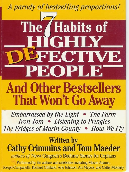 Title details for The 7 Habits of Highly Defective People by Cathy Crimmins - Available