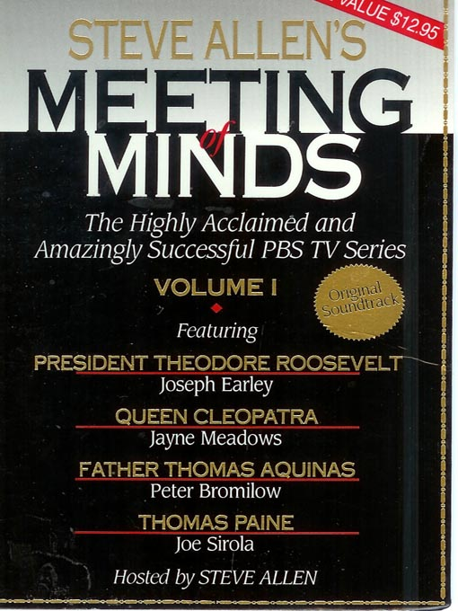 Title details for Meeting of Minds, Volume I by Steve Allen - Available