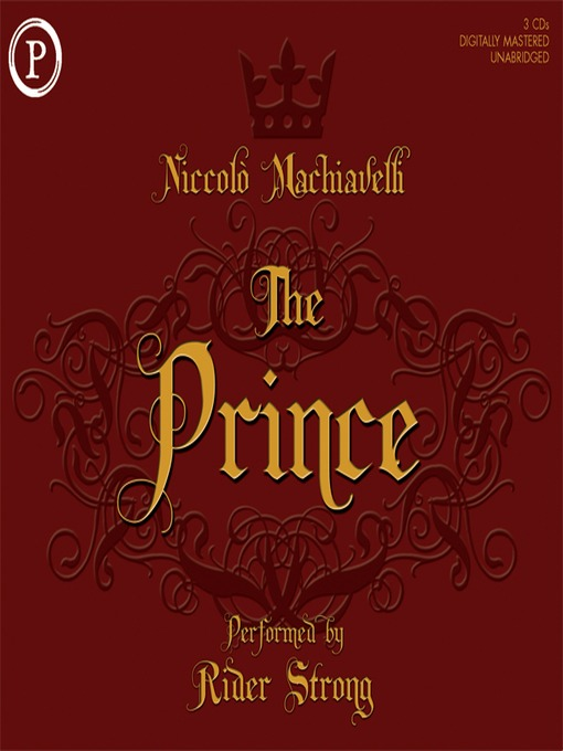 "an analysis of the themes in the prince by machiavelli The thematic ideas of niccolò machiavelli's ""the prince"" influence christopher marlowe's plot line in his play, ""the jew of malta"" marlowe prioritizes and expands on those themes: the ruler must be a great hypocrite and liar, have a native army, and know the nature of the people and when the people will remain peaceful."