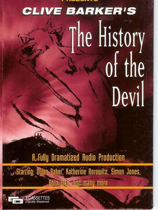 Title details for The History of the Devil by Clive Barker - Wait list