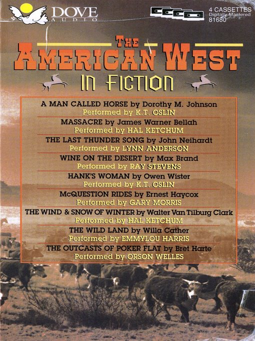 Cover image for The American West in Fiction
