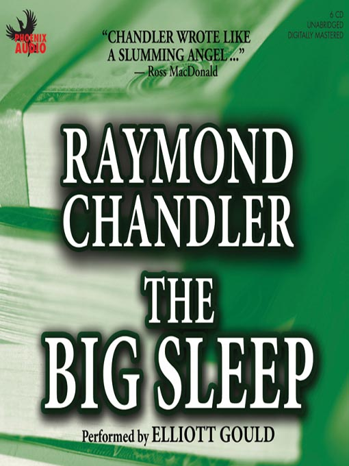 Title details for The Big Sleep by Raymond Chandler - Wait list