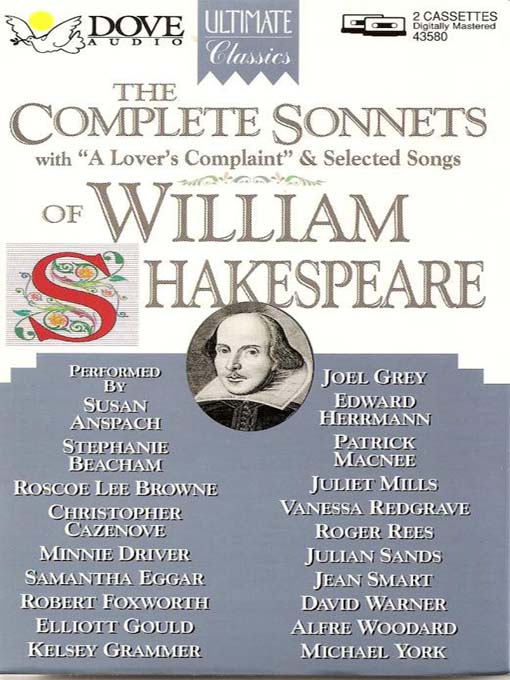 The Complete Sonnets of William Shakespeare