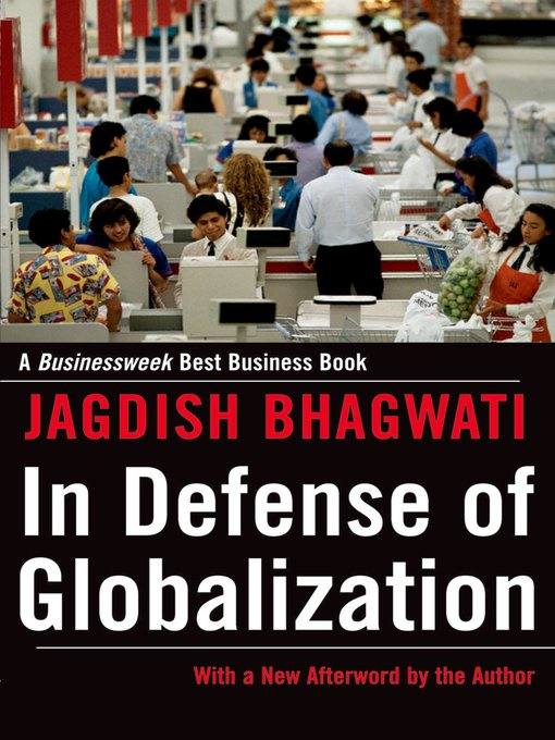 Cover of In Defense of Globalization