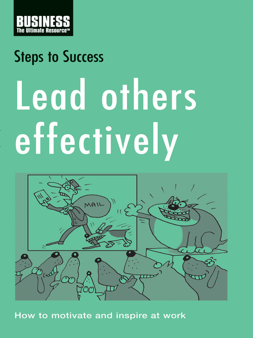 Cover of Lead Others Effectively