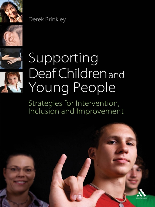 Title details for Supporting Deaf Children and Young People by Derek Brinkley - Available