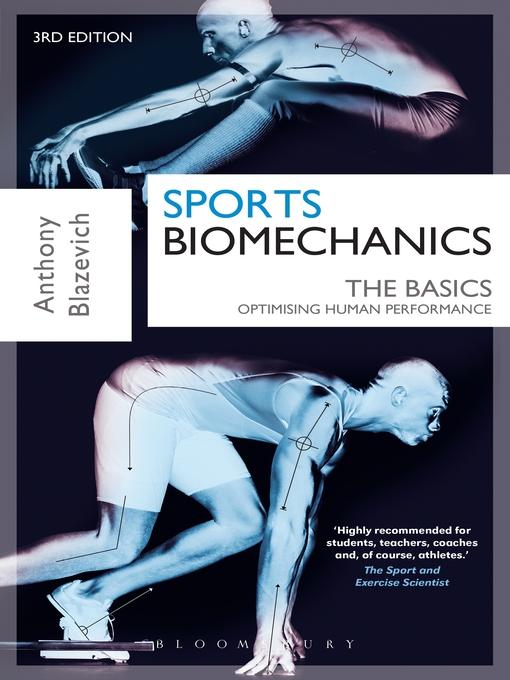 Sports Biomechanics Ok Virtual Library Overdrive