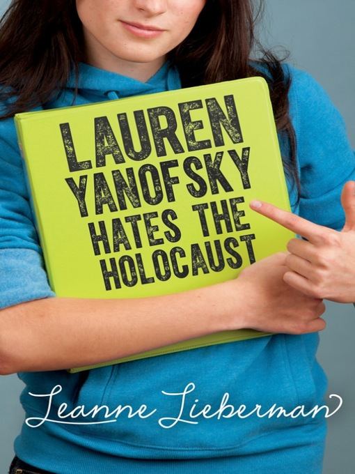 Cover of Lauren Yanofsky Hates the Holocaust